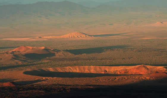 Panoramic of the Pinacate